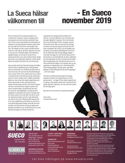 En Sueco November 2019