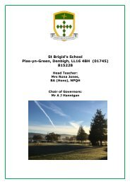 St Brigid's School Prospectus 2019