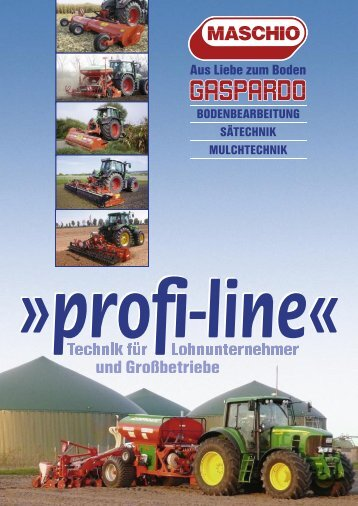 Profi-Line - Maschio Deutschland GmbH