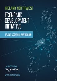 Ireland Northwest - Economic Development Initiative 2019 Proposition Brochure