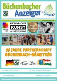 Oktober 2019 - Büchenbacher Anzeiger