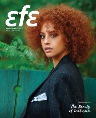 Efe Magazine Issue 11  – November/December 2019 Edition
