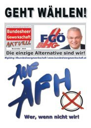 BHG Wahlkampfzeitung zur PV-Wahl 2019
