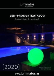 LUMINATOS LED-Katalog 2020
