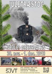 Juletræstog | Vejle - Grejsdalen | 30. nov. - 1. dec. 2019 | Sydjyllands Veterantog