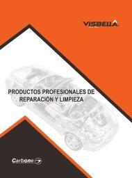 Catalogo Productos para Reparación y Limpieza Profesionales Visbella