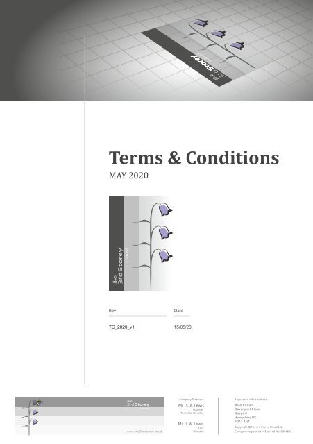 The 3rd Storey Cloud Ltd - Terms and Conditions