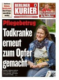 Berliner Kurier 06.11.2019