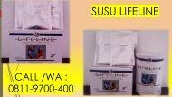DISTRIBUTOR CALL/WA 0811-9700-400 Purwokerto Jual Susu Kesehatan Untuk Lansia LIFELINE