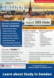 Top Reasons to Study in Sweden for International Students