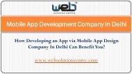 Mobile Application Company In Delhi