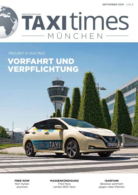 Taxi Times München - September 2019