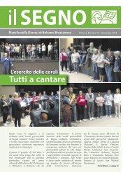 Il Segno - Mensile della Diocesi die Bolzano-Bressanone - Anno 55, numero 10, novembre 2019
