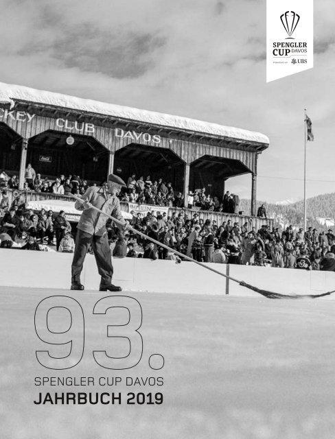 93. Spengler Cup Davos - Jahrbuch 2019 (50-er Jahre)