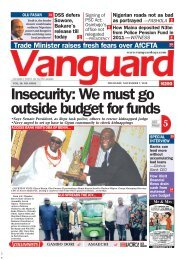 07112019 - Insecurity: We must go outside budget for funds