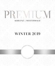 PREMIUM Magazin I Winter 2019