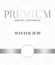 PREMIUM Magazin I Winter 2019