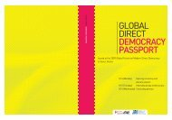 Global Direct Democracy Passport