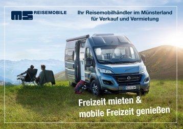 MS Reisemobile Firmenbroschüre