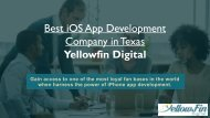 iOS App Development company in Texas