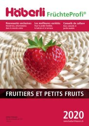 2020 Fruits et petits fruits de Häberli