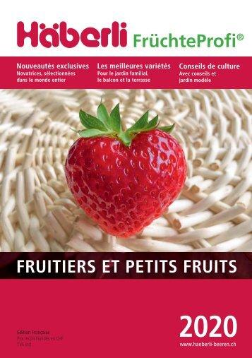 2020 Fruits et petits fruits de Häberli