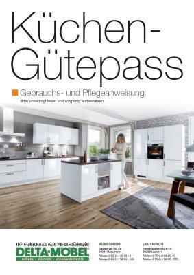 DELTA-MÖBEL: Küchen-Gütepass
