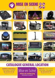 Mise en Scène - Catalogue location 2020