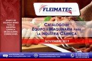 Catálogo de Maquinaria Cárnica Fleimatec - Noviembre 2019