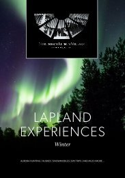 Lapland Winter Experiences - Northern Lights Village Saariselkä 2019-2020