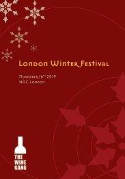 London Winter Festival 2019 - The Official Brochure
