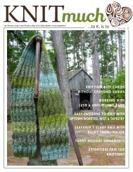 KNITmuch Issue 9