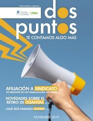 Dos:Puntos - Informativo Laboral Godoy Córdoba - Noviembre 2019
