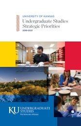 Undergraduate Studies Strategic Priorities 2018-2021