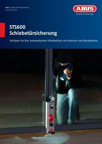 STS600 Schiebetürsicherung - mbf-berlin.de