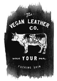 Vegan Leather Co. 2020 Vegan Planner Preview