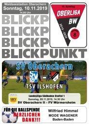 Blickpunkt #08  SV Oberachern - TSV-Ilshofen