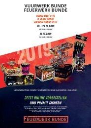 Feuerwerk Bunde Katalog 2019