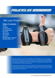 Powerslide Protective Gear
