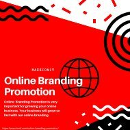 Online Branding Promotion  Brand Promotion Services | Maxzion IT