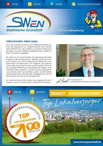 SWEN Kundenzeitung 01/19