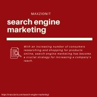 Search Engine Marketing  SEM Services | Maxzion IT