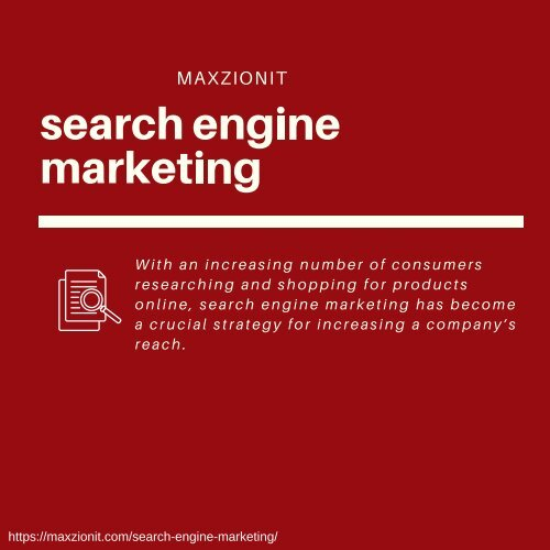 Search Engine Marketing  SEM Services | Maxzion IT