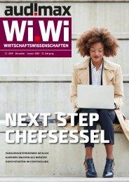 audimax Wi.Wi 12-2019 - Das Karrieremagazin für Wirtschaftswissenschaftler