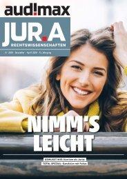 audimax JUR.A 12-2019 - Karrieremagazin für Juristen