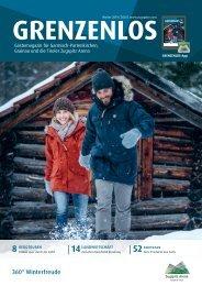 Grenzenlos Wintermagazin
