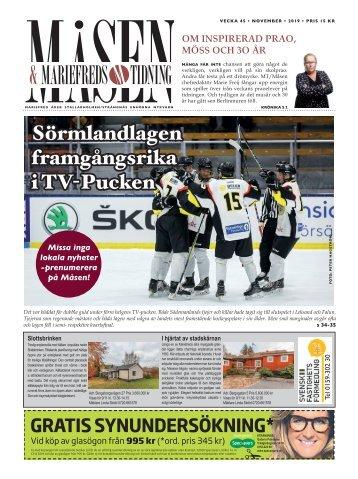 Mariefreds Tidning/Måsen vecka 45