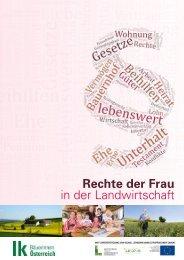 Broschüre Rechte der Frau in der Landwirtschaft