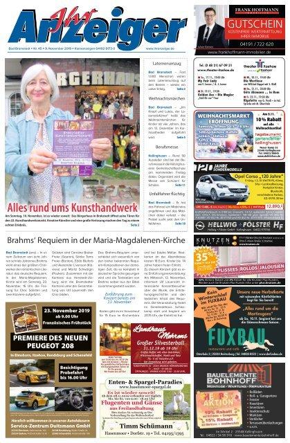 Ihr Anzeiger Bad Bramstedt 45 2019