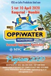Oppiwater Kunstefees 2020 - Program